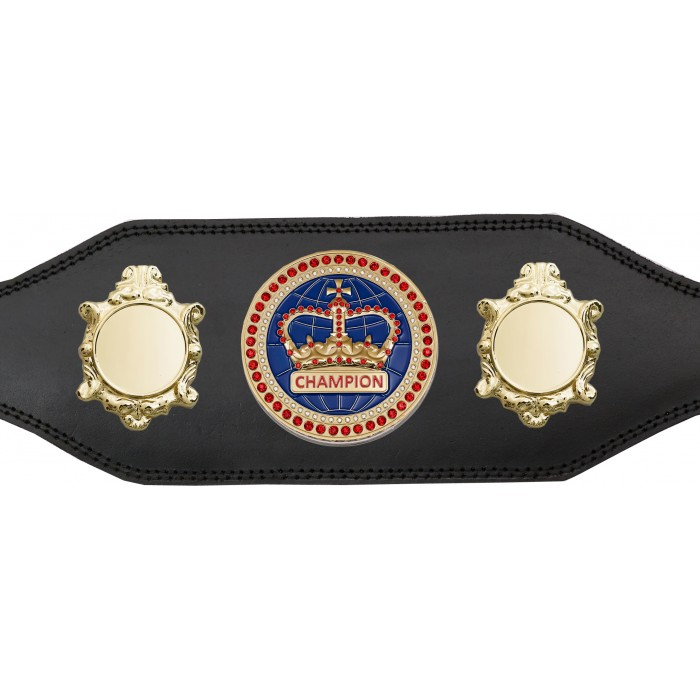 CHAMPIONSHIP BELT - BUD003/G/BLUGEM - AVAILABLE IN 4 COLOURS